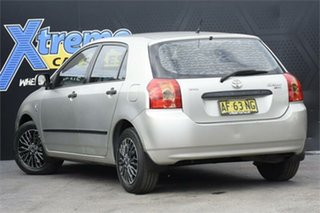 2005 Toyota Corolla ZZE122R 5Y Ascent Silver 4 Speed Automatic Hatchback
