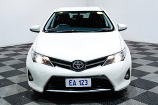 2014 Toyota Corolla ZRE182R Levin S-CVT SX White 7 Speed Constant Variable Hatchback.