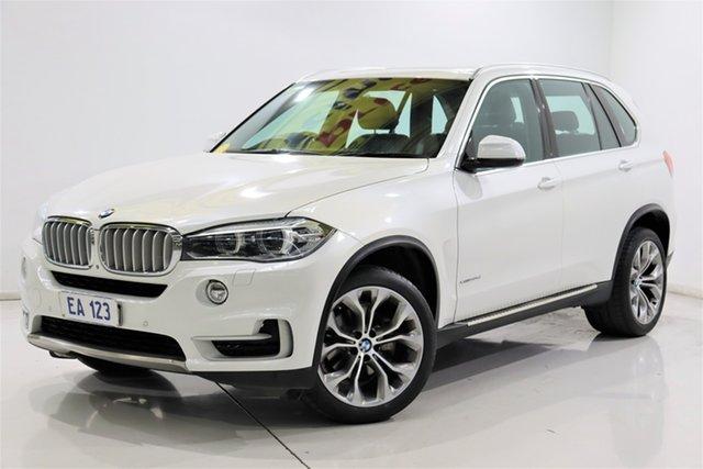 Used BMW X5 F15 xDrive30d Brooklyn, 2014 BMW X5 F15 xDrive30d White 8 Speed Sports Automatic Wagon