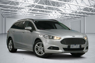 2016 Ford Mondeo MD Ambiente Silver 6 Speed Automatic Wagon.