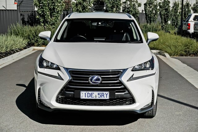 Used Lexus NX AYZ15R NX300h E-CVT AWD Luxury Essendon Fields, 2015 Lexus NX AYZ15R NX300h E-CVT AWD Luxury Black 6 Speed Constant Variable Wagon Hybrid