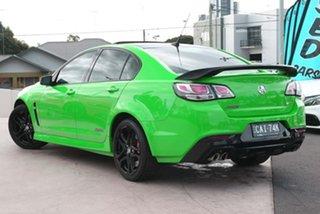 2017 Holden Commodore VF II MY17 SS V Redline Spitfire Green 6 Speed Sports Automatic Sedan.