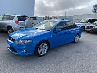 2009 Ford Falcon FG XR6 Blue 5 Speed Auto Seq Sportshift Sedan.