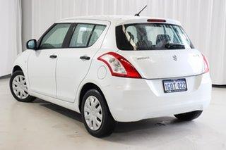 2011 Suzuki Swift FZ GA White 5 Speed Manual Hatchback.