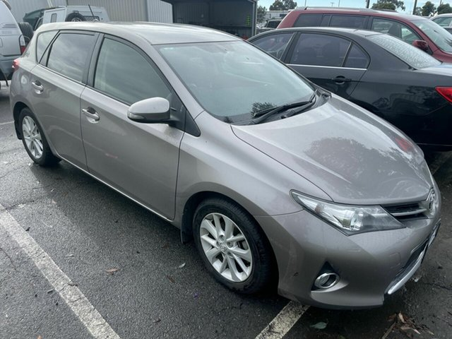 Used Toyota Corolla ZRE182R Ascent Sport Traralgon, 2014 Toyota Corolla ZRE182R Ascent Sport Bronze 7 Speed CVT Auto Sequential Hatchback