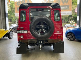 2014 Land Rover Defender 90 Red Manual Wagon