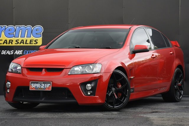 Used Holden Special Vehicles ClubSport E Series R8 Campbelltown, 2007 Holden Special Vehicles ClubSport E Series R8 Red 6 Speed Manual Sedan