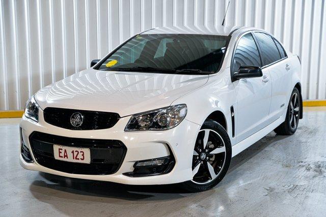 Used Holden Commodore VF II MY16 SV6 Black Hendra, 2016 Holden Commodore VF II MY16 SV6 Black White 6 Speed Sports Automatic Sedan