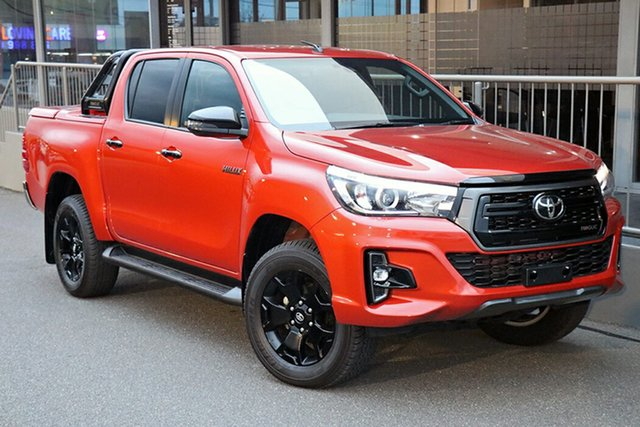 Pre-Owned Toyota Hilux GUN126R Rogue Double Cab Preston, 2020 Toyota Hilux GUN126R Rogue Double Cab Inferno 6 Speed Sports Automatic Utility