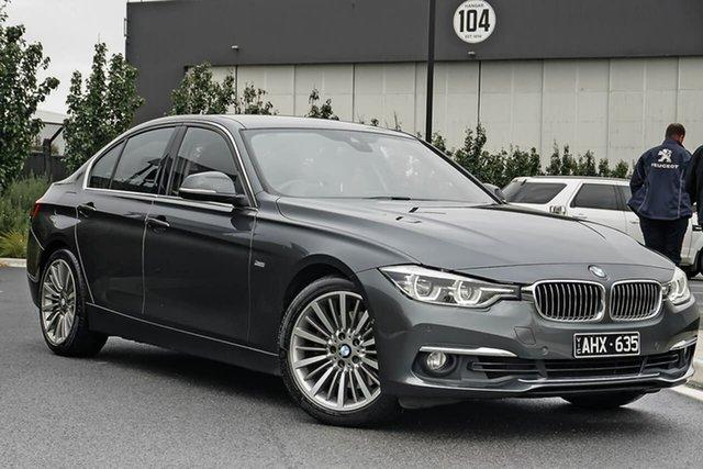 Used BMW 3 Series F30 LCI 330i Luxury Line Essendon Fields, 2016 BMW 3 Series F30 LCI 330i Luxury Line Grey 8 Speed Sports Automatic Sedan