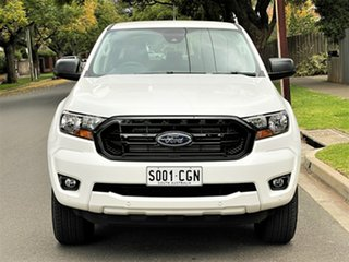 2020 Ford Ranger PX MkIII 2020.75MY Sport White 6 Speed Sports Automatic Double Cab Pick Up.