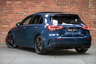 2020 Mercedes-Benz A-Class W177 800+050MY A45 AMG SPEEDSHIFT DCT 4MATIC+ S Denim Blue 8 Speed.