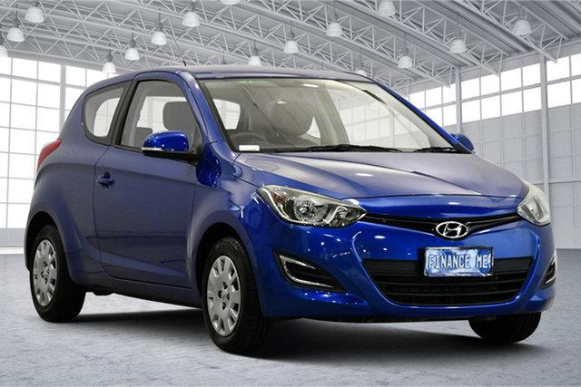 Used Hyundai i20 PB MY13 Active Victoria Park, 2012 Hyundai i20 PB MY13 Active Pristine Blue 4 Speed Automatic Hatchback