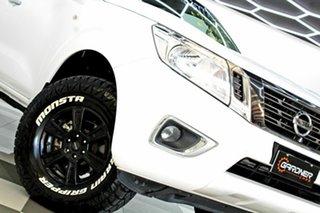 2018 Nissan Navara D23 Series III MY18 RX (4x4) White 6 Speed Manual Dual Cab Chassis.