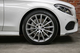 2016 Mercedes-Benz C-Class C205 C300 7G-Tronic + White 7 Speed Sports Automatic Coupe