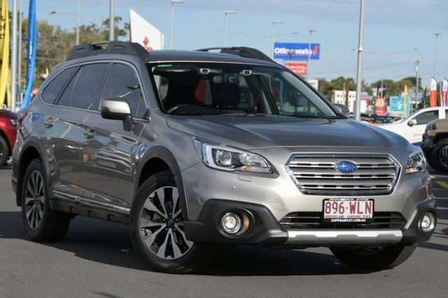 Used Subaru Outback B6A MY16 3.6R CVT AWD Aspley, 2015 Subaru Outback B6A MY16 3.6R CVT AWD Tungsten Metal 6 Speed Constant Variable Wagon