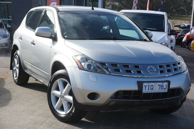 Used Nissan Murano Z50 ST Phillip, 2005 Nissan Murano Z50 ST Silver 6 Speed Constant Variable Wagon