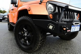 2013 Jeep Wrangler JK MY2013 Overland Orange 5 Speed Automatic Hardtop.