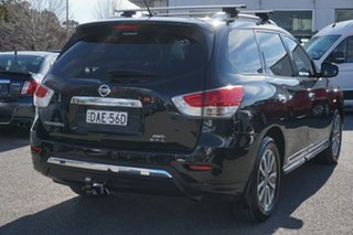 2016 Nissan Pathfinder R52 MY16 ST-L X-tronic 4WD Black 1 Speed Constant Variable Wagon