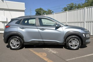 2018 Hyundai Kona OS MY18 Active 2WD Silver 6 Speed Sports Automatic Wagon.