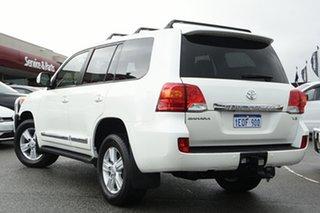2014 Toyota Landcruiser URJ202R MY13 Sahara White 6 Speed Sports Automatic Wagon.