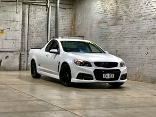 2013 Holden Ute VF MY14 SS Ute White 6 Speed Manual Utility.