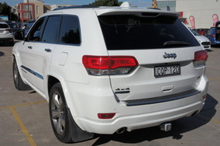2013 Jeep Grand Cherokee WK MY2013 Overland White 5 Speed Sports Automatic Wagon