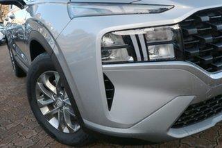2021 Hyundai Santa Fe Tm.v3 MY21 DCT Typhoon Silver 8 Speed Sports Automatic Dual Clutch Wagon.