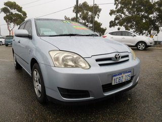 2005 Toyota Corolla ZZE122R 5Y Ascent Silver 5 Speed Manual Hatchback