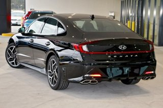 2021 Hyundai Sonata DN8.V1 MY21 N Line DCT Midnight Black 8 Speed Sports Automatic Dual Clutch Sedan.