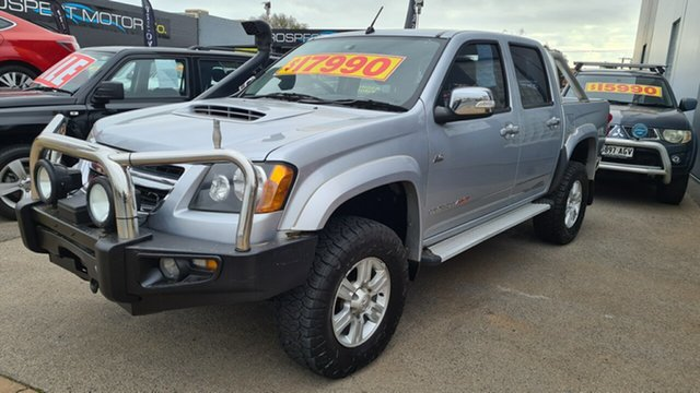 Used Holden Colorado RC MY11 LT-R (4x4) Prospect, 2011 Holden Colorado RC MY11 LT-R (4x4) Silver & Light Blue 5 Speed Manual Crew Cab Pickup
