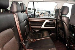 2017 Toyota Landcruiser VDJ200R MY16 Sahara (4x4) Eclipse Black 6 Speed Automatic Wagon