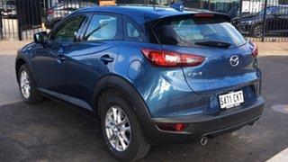 2021 Mazda CX-3 DK2W7A Maxx SKYACTIV-Drive FWD Sport LE Eternal Blue 6 Speed Sports Automatic Wagon.