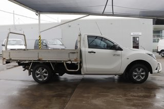 2017 Mazda BT-50 UR0YE1 XT 4x2 Cool White 6 Speed Manual Cab Chassis.