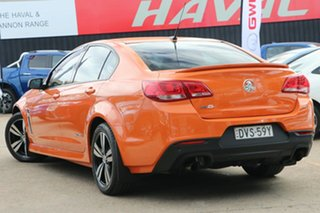 2014 Holden Commodore VF MY14 SV6 Storm Orange 6 Speed Sports Automatic Sedan.