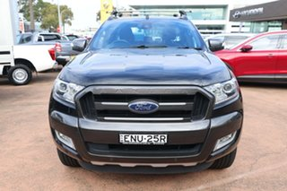 2018 Ford Ranger PX MkII MY18 Wildtrak 3.2 (4x4) Black 6 Speed Automatic Dual Cab Pick-up
