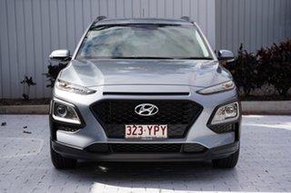 2018 Hyundai Kona OS.2 MY19 Go 2WD Silver 6 Speed Sports Automatic Wagon.