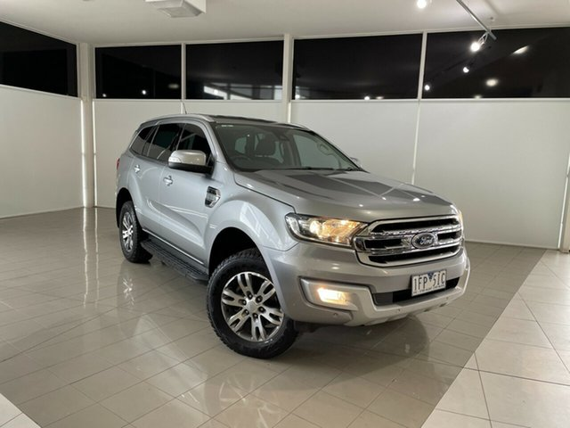Used Ford Everest UA Trend Deer Park, 2015 Ford Everest UA Trend Silver, Chrome 6 Speed Sports Automatic SUV