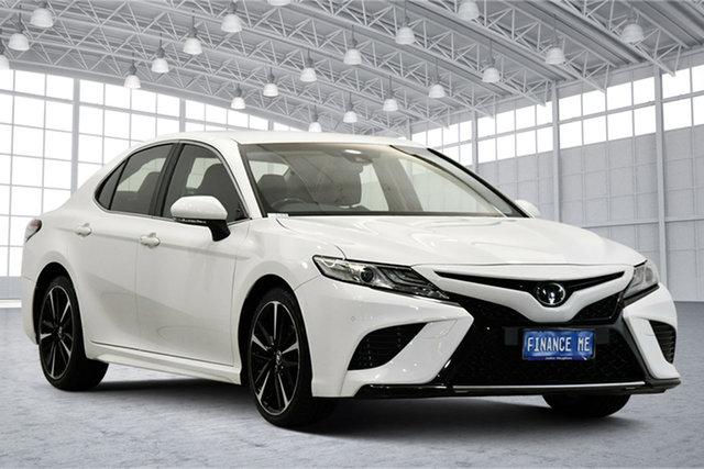 Used Toyota Camry GSV70R SX Victoria Park, 2018 Toyota Camry GSV70R SX White 8 Speed Sports Automatic Sedan