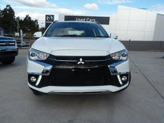2019 Mitsubishi ASX XC MY19 ES 2WD ADAS White 1 Speed Constant Variable Wagon.