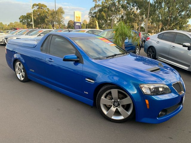 Used Holden Ute VE MY10 SS V Special Edition Bunbury, 2009 Holden Ute VE MY10 SS V Special Edition Voodoo Blue 6 Speed Manual Utility