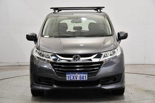 2015 Honda Odyssey RC MY16 VTi Grey 7 Speed Constant Variable Wagon.