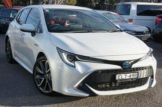2020 Toyota Corolla ZWE211R ZR E-CVT Hybrid White 10 Speed Constant Variable Hatchback Hybrid.