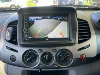 2006 Mitsubishi Triton MK MY06 GLX-R (4x4) Blue 5 Speed Manual Double Cab Utility