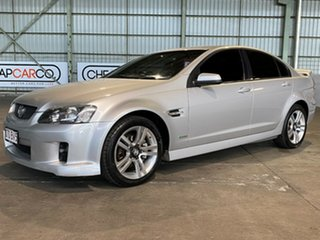 2010 Holden Commodore VE MY10 SV6 Silver 6 Speed Sports Automatic Sedan.