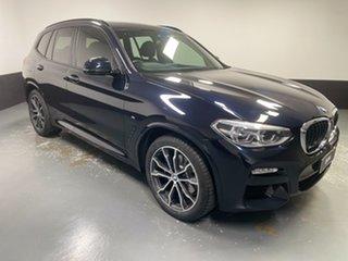 2018 BMW X3 G01 xDrive30i Steptronic Black 8 Speed Automatic Wagon.