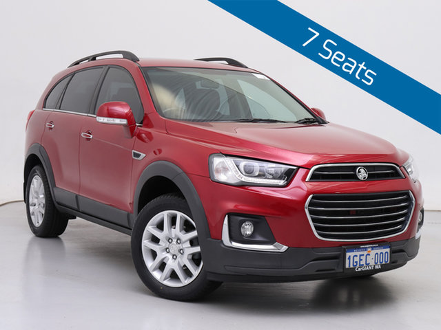 Used Holden Captiva CG MY16 Active 7 Seater, 2016 Holden Captiva CG MY16 Active 7 Seater Red 6 Speed Automatic Wagon