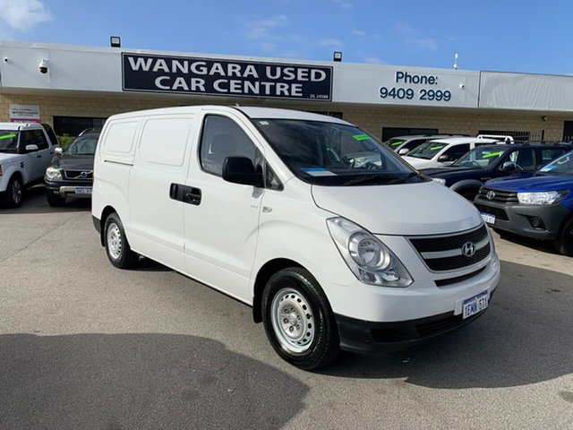 Used Hyundai iLOAD TQ MY14 Wangara, 2014 Hyundai iLOAD TQ MY14 White 5 Speed Manual Van