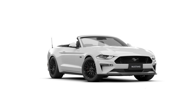New Ford Mustang FN 2021.50MY GT Victoria Park, 2021 Ford Mustang FN 2021.50MY GT Oxford White 10 Speed Sports Automatic Convertible