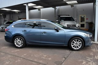 2013 Mazda 6 GJ1031 Touring SKYACTIV-Drive Blue 6 Speed Sports Automatic Wagon.
